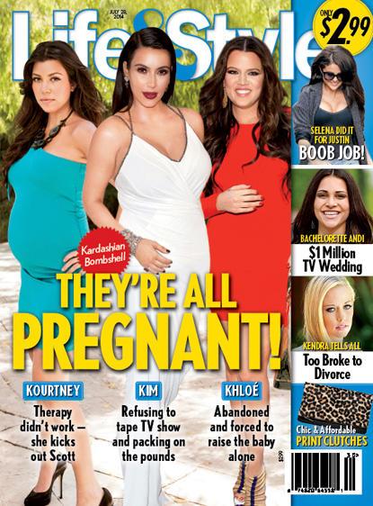 Pregnant Kardashians!!!