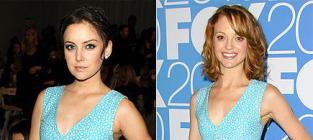 Fashion Face-Off: Jessica Stroup vs. Jayma Mays