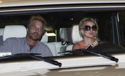 Britney Spears and Jason Trawick Go For a Spin