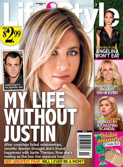 Jennifer Aniston: Life Without Justin!