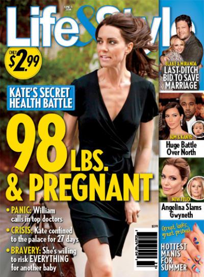 Kate Middleton: 98 Lbs.! Pregnant!