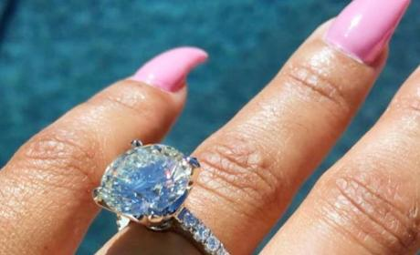 Blac Chyna: Engagement Ring Close-Up