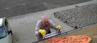 Breaking Bad Pizza Scene