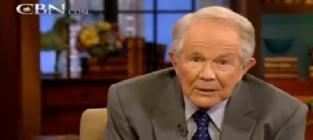 Pat Robertson Suggests Viewer Become Muslim, Beat Wife