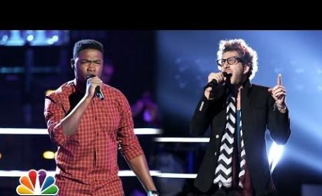 Matthew Schuler vs. Will Champlin - The Voice Knockout