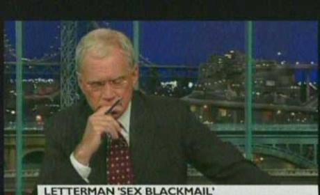 David Letterman Blackmail Explanation