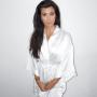Kourtney Kardashian in a Robe