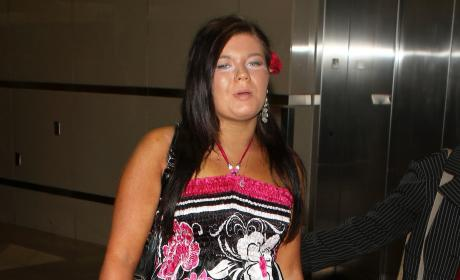 Sad Amber Portwood Photo