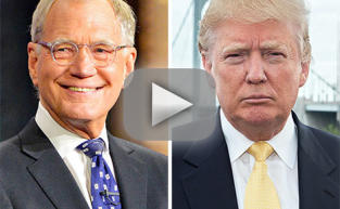 David Letterman Blasts Donald Trump with Surprise Top 10 List