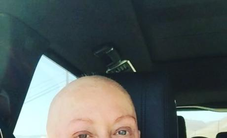 Shannen Doherty Works Out Day After Chemo
