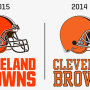 Cleveland Browns New Helmet, Logo