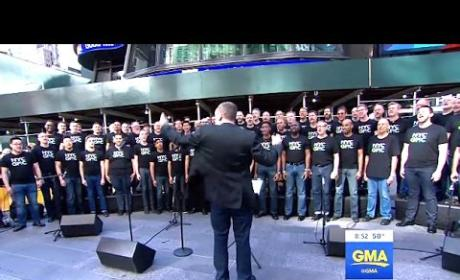 Gay Men's Chorus Pays Beautiful Tribute to Orlando Shooting Victims