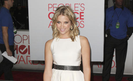 Ashley Benson at the People's Choice Awards