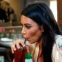 Kim Kardashian Sucks on a Straw