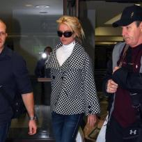 Britney Returns to LAX