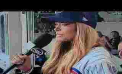 "Denise Richards Butchers ""Take Me Out to the Ballgame"""