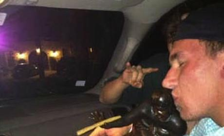 Johnny Manziel Heisman Photo: Real or Fake Blunt?