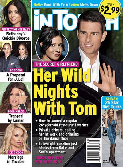 Tom Cruise girlfriend?