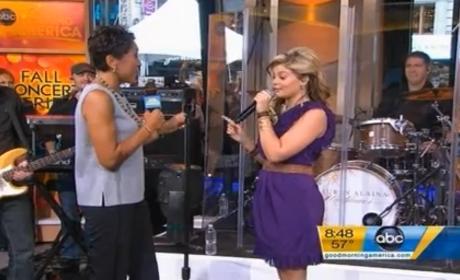 Lauren Alaina Performs Two Tracks on Good Morning America