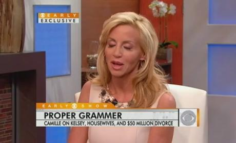Insider: Camille Grammer All About Money, Money, Money