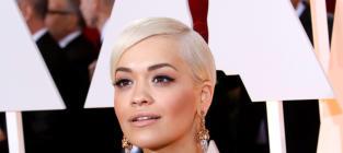Rita Ora at the 2015 Oscars