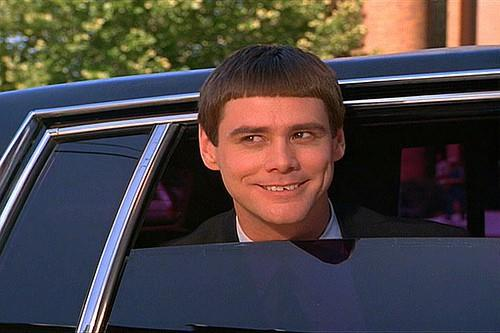 Jim Carrey as Lloyd Christmas