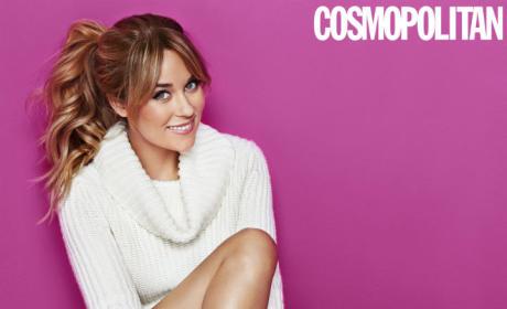 Lauren Conrad in Cosmopolitan