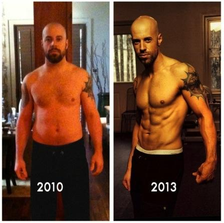 Chris Daughtry Shirtless Photos