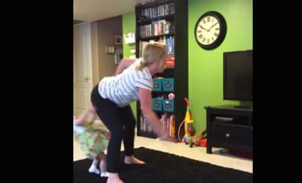 Woman Twerks, Knocks Over Toddler