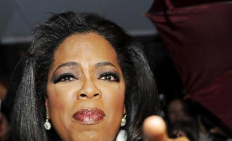 Oprah: Injured Lifting Tyler Perry Birthday Gift!