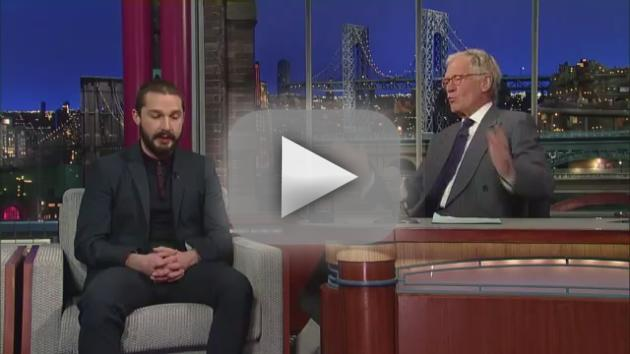 Shia LaBeouf Late Show Interview