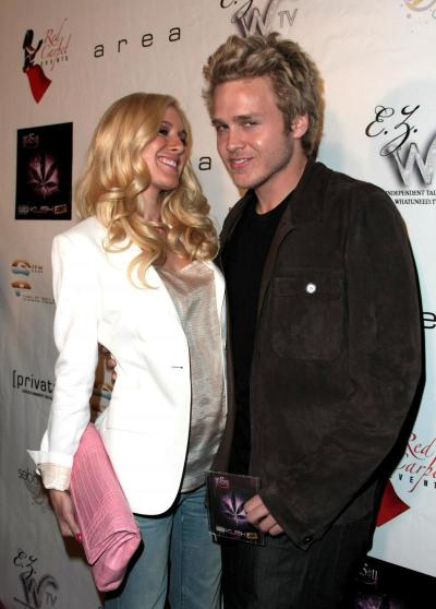 Spencer Pratt and Heidi Montag at Area
