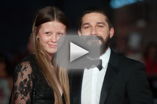 Shia LaBeouf-Mia Goth Fight Caught upon Tape: WATCH!