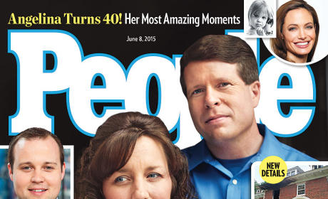 Michelle & Jim Bob Duggar People Magazine Cover