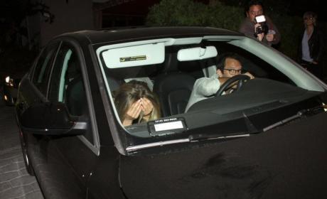Jennifer Aniston and Christopher Gartin