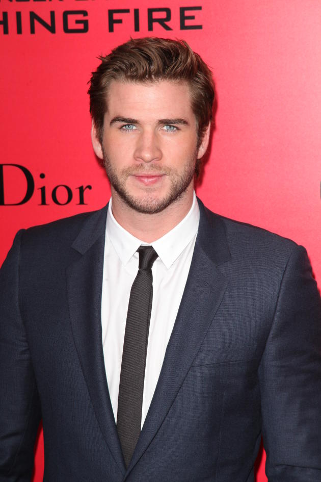 Liam Hemsworth in NY