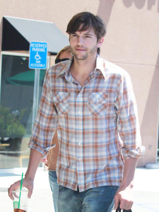 Ashton Kutcher on the Street