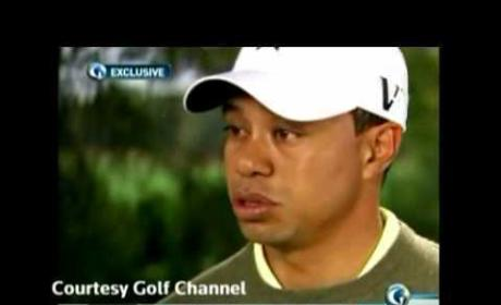Tiger Woods Golf Channel Interview