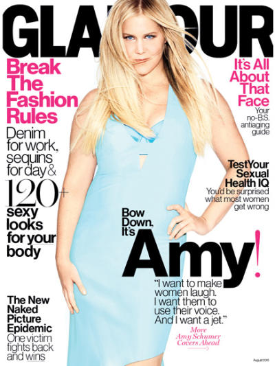Amy Schumer Glamour Cover