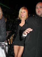 Heidi Klum Arriving at Britney's Birthday