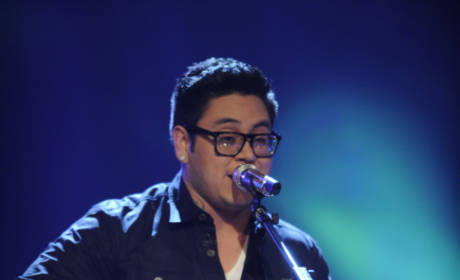 Andrew Garcia on Idol