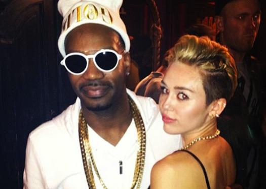 Miley Cyrus and Juicy J