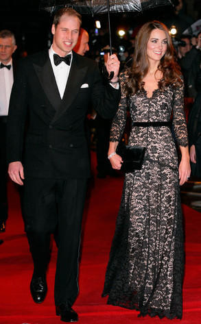Kate Middleton in Alice Temperley