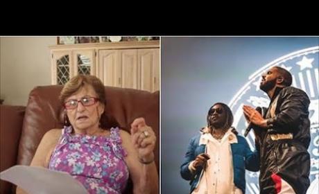 Grandma is Very Confused Over Drake/Future Lyrics