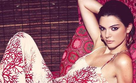 Kendall Jenner Nearly Bares All in Vogue Japan
