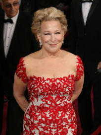 Bette Midler at the Oscars
