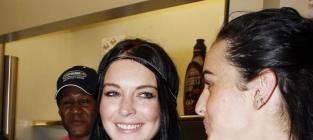 Ali and Lindsay Lohan Pic