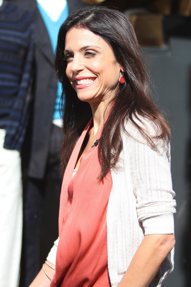 Bethenny Frankel on the Street