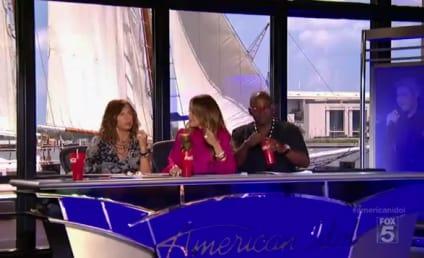 Brittany Kerr: New American Idol Bikini Girl!