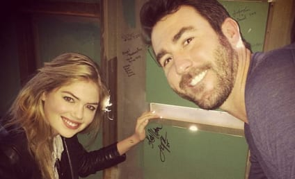 Kate Upton and Justin Verlander: Date Night at Fenway Park!